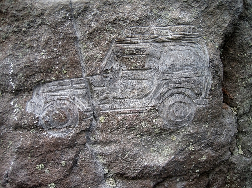 Contemporary Petroglyph